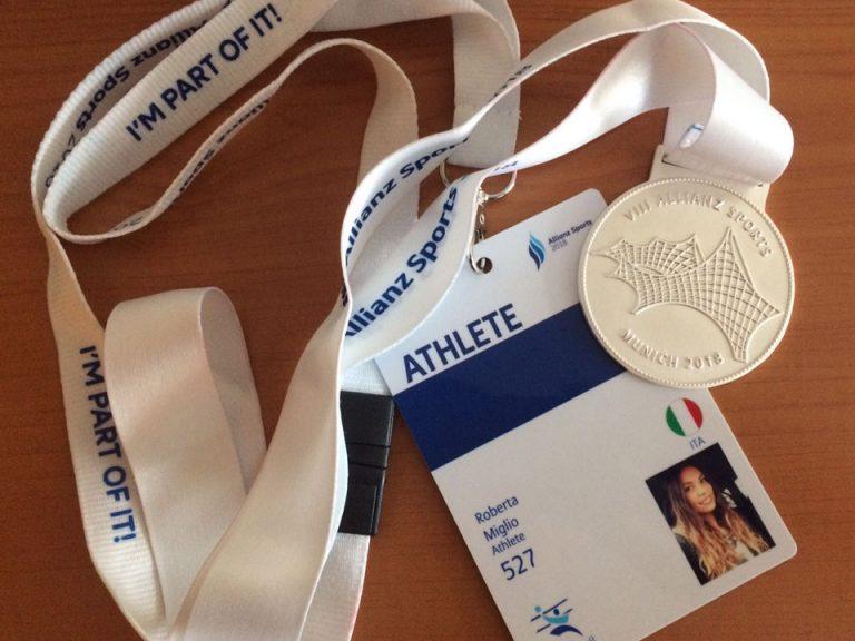 Pass e Medaglia d'argento per Roberta