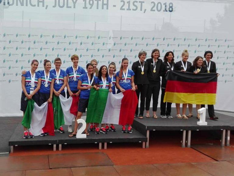 Germania e Italia sul podio